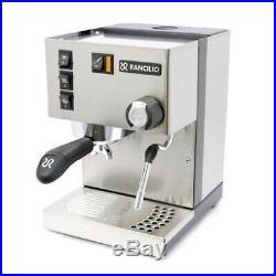 New Espresso Coffee Machine, Made in Italy, Rancilio Silvia M 2019 Model