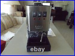 New Gaggia Classic Espresso Machine 2019 Model Stainless Steel Coffee