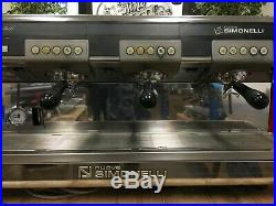 Nuova Simonelli Aurelia Red 3 Group Espresso Coffee Machine Cafe Latte Barista