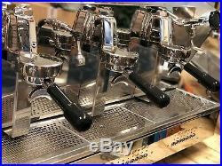 Orchestrale Etnica 3 Group Orange Espresso Coffee Machine Commercial Cafe