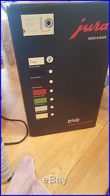 Original Pink Jura ENA 5 Aroma+ Bean to cup coffee espresso machine BNIB