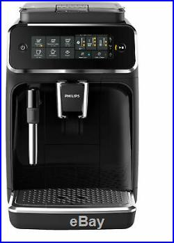 PHILIPS EP3221 / 40 3200 fully automatic coffee machine black piano lacquer