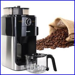 Philips HD 7761 Drip Coffee Maker Espresso Machine Grinder 1.2L, 220V, 60Hz