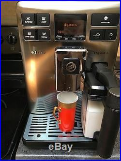 Philips Saeco ENERGICA with Milk Carafe Coffee Espresso Machine HD8852