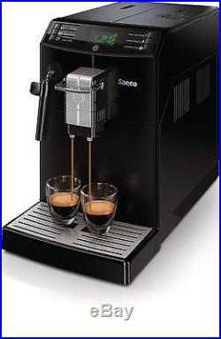 Philips Saeco Minuto Focus Automatic Espresso Machine & Coffee Maker Black