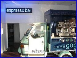 Piaggio Espresso Bar Scooter with New Astoria 2 coffee machine
