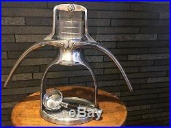Presso Espresso Coffee Press Maker Machine Aluminium Portable Camping Home