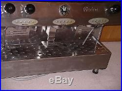 Professioal Fracino 3 Group Electronic Espresso Coffee Machine and grinder