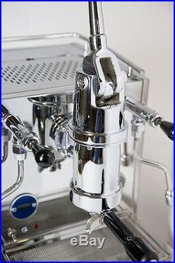 QuickMill Rapida Model 0987 Lever Espresso & Cappuccino Coffee Machine PID 220V