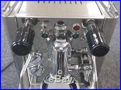 Quick Mill Andreja Premium Model 0980 Espresso/Coffee Machine Like New