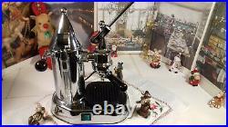 RARE Gaggia Factory G106 La Pavoni Chrome coffee lever espresso machine
