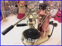 RARE La Pavoni Professional PRG COPPER BRASS espresso lever machine lever coffee