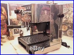 RARE Lapavoni la pavoni DOMUS BAR DMB stainless espresso machine coffee grinder