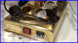 RARE Zacconi Riviera brass SPRING coffee lever espresso machine italy