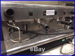 Rancilio 2 Two Group Espresso Commercial Coffee Machine Coffee Shop Cafe