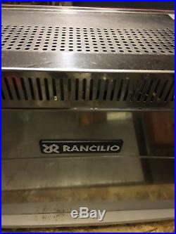 Rancilio Epoca 2-group espresso machine, used, fully serviced and working