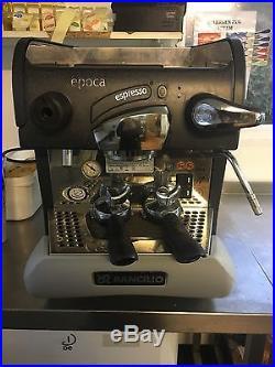Rancilio Epoca COFFE/ Espresso Machine GOOD CONDITION. CAFE/ BISTRO PORTABLE