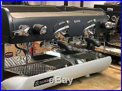 Rancilio Epoca S2 Semi Automatic 2 Group Espresso Coffee Machine Cafe Barista