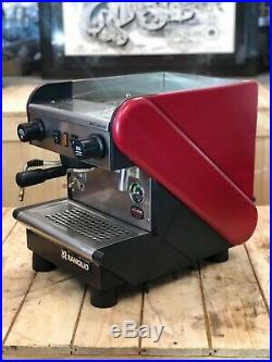 Rancilio S26 1 Group Red Espresso Coffee Machine Cafe Home Office Restaurant Cup