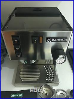 Rancilio Silvia Coffee / Espresso Machine Silver