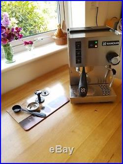 Rancilio Silvia Espresso Coffee Machine 2017 V5