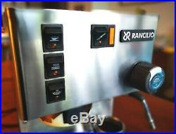 Rancilio Silvia Espresso Coffee Machine, 4 Baskets, Spare Steam Nozzle