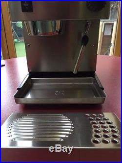 Rancilio Silvia Espresso Coffee Machine Better Gaggia Classic. + set of cups