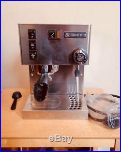 Rancilio Silvia Espresso Coffee Machine Stainless Steel