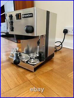 Rancilio Silvia Espresso Coffee Machine Upgraded And Modified Superb Condition