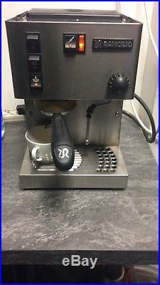 Rancilio Silvia Espresso Machine FREE Coffee
