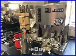 Rancilio Silvia Portafilter Coffee Machine Espresso Ascaso I-Mini Grinder