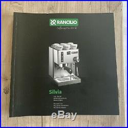 Rancilio Silvia V3 Miss Silvia Coffee Espresso Machine