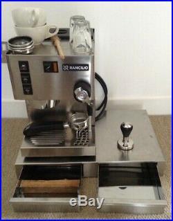Rancilio Silvia v3 Coffee Machine Espresso Mazzer gaggia tamper base knock box