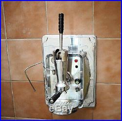 Rare Vintage wall-mounted lever coffee espresso machine handhebel, No faema