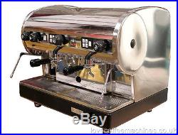 Refurbished CMA Lisa 2 Group Fully Auto Espresso Cappuccino Coffee Machine