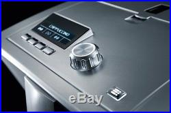 Refurbished Severin KV8021 S2+ Coffee Machine Silver Espresso Fully Automatic