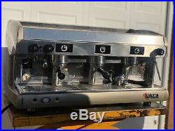 Refurbished WEGA Dual Fuel 3 Group Commercial Espresso coffee machine &Warranty