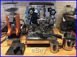 Rocket Giotto Evoluzione Coffee Machine Espresso Machine Eureka Mignon