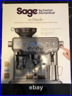 SAGE BES980UK The Oracle Bean to Cup Coffee Machine Silver