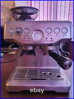 SAGE Barista Express BES875UK 1850 W Bean to Cup Coffee Machine Brushed Stain