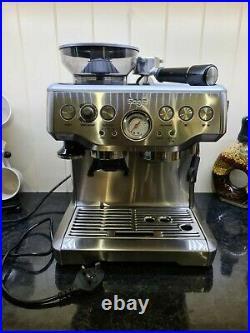 SAGE Barista Express Bean to Cup Coffee Machine -BES870 BSS /C Silver