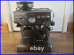 SAGE Barista Express Bean to Cup Coffee Machine BES875UK Silver