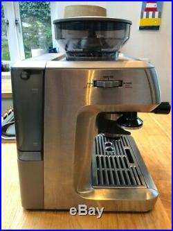 SAGE Barista Express Bean to Cup Coffee Machine BES875UK Silver