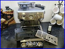SAGE Barista Express Bean to Cup Coffee Machine -BES875 BSS /D Silver