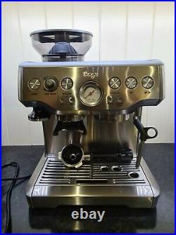 SAGE Barista Express Bean to Cup Coffee Machine -BES875 BSS / Silver