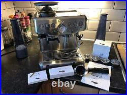 SAGE The Barista Express 1850W Espresso Coffee Machine In Stainless Steel Silver