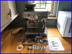 SAGE The Barista Express 1850W Espresso Coffee Machine. Needs Repairing