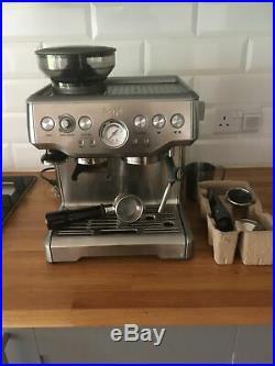 SAGE The Barista Express 1850W Espresso Coffee Machine Please Read