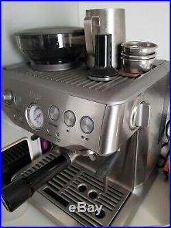 SAGE The Barista Express 1850W Espresso Coffee Machine with Integrated Burr Sta