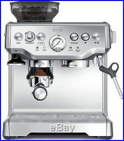 SAGE The Barista Express Espresso Coffee Machine With Integrated Conical Grinder